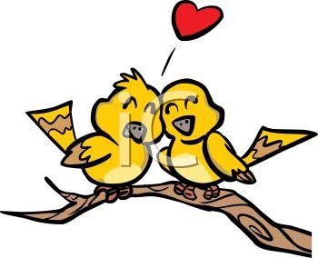 0511-0812-1500-5638_Love_Birds_Sitting_in_a_Tree_clipart_image