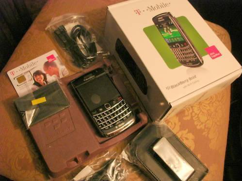 T-MobileBlackBerryBold9700
