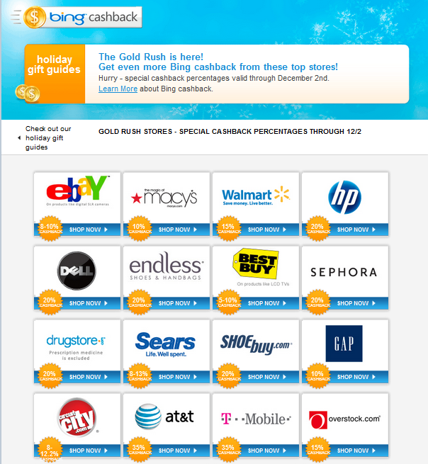 My Saves Bing: Save Money With Bing!