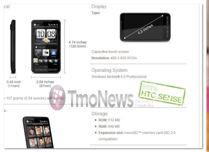 T-Mobile HTC HD2_Part2_wm