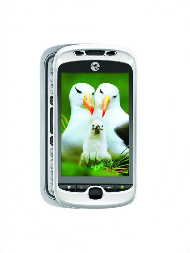 T-Mobile myTouch 3G Slide HIRES