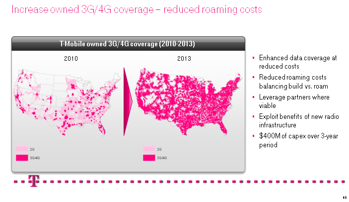 T-Mobile Towers Map