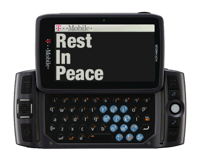 T-Mobile Finally Ends The Sidekick (OS) Line, Effective May 2011 ...