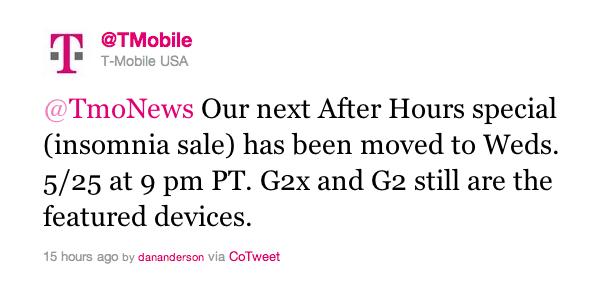 t mobile pushes back insomnia sale to wednesday tmonews. Black Bedroom Furniture Sets. Home Design Ideas