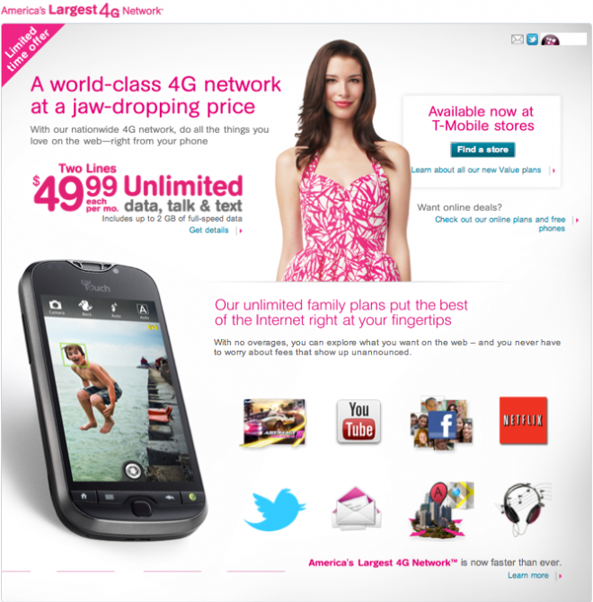 T-Mobile Launches $49.99 Gift Card/Facebook/Free Phone Promotion ...