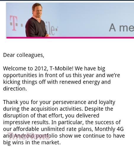 T Mobile Ceo Welcomes The New Year With Statement