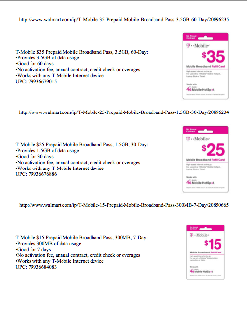 Walmart Introducing Exclusive T-Mobile Prepaid Mobile