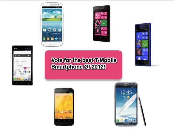 As 2012 Winds Down, Vote For The Best T-Mobile Smartphone ...