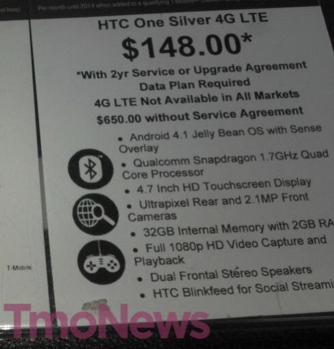 Deal Alert: Walmart Prices The HTC One At $148 00 With Two