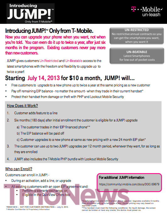 T-Mobile's JUMP! Upgrade Program, Just How Good Of A Deal Is
