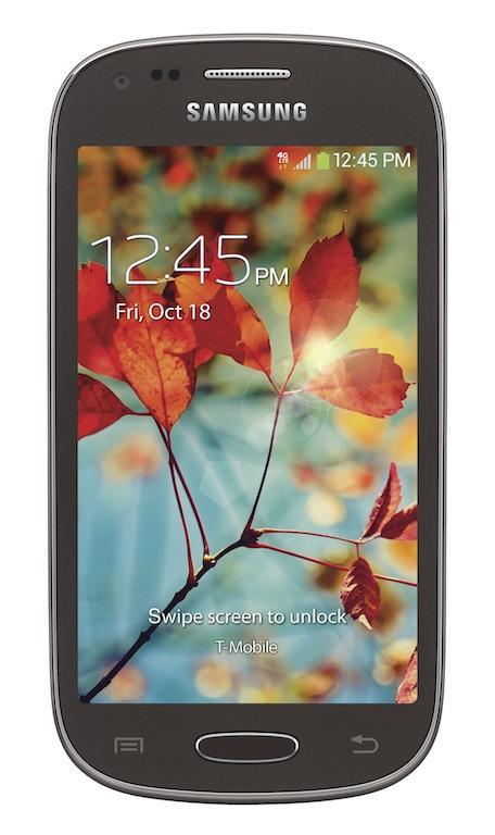 Samsung Galaxy Light (front)