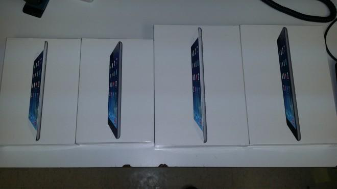 iPad in stock