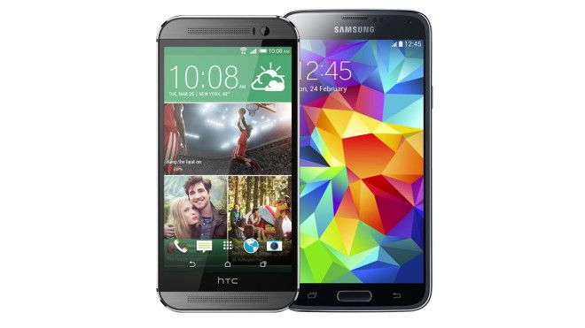 HTC-One-M8-vs-Samsung-Galaxy-S5