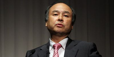 SoftBank CEO Masayoshi Son Earnings News Conference