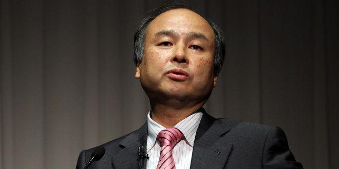 SoftBank CEO Masayoshi Son Earnings News Conference