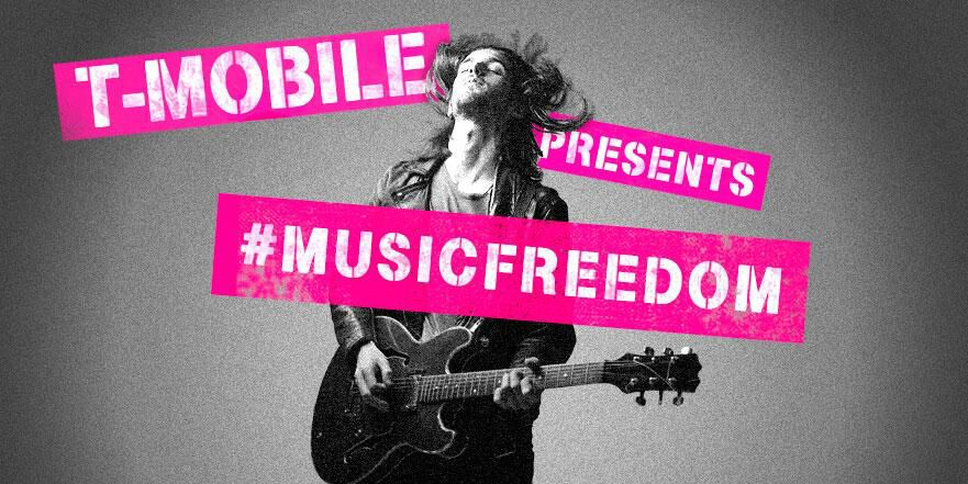 T-Mobile Music Freedom is gaining support for 11 more streaming