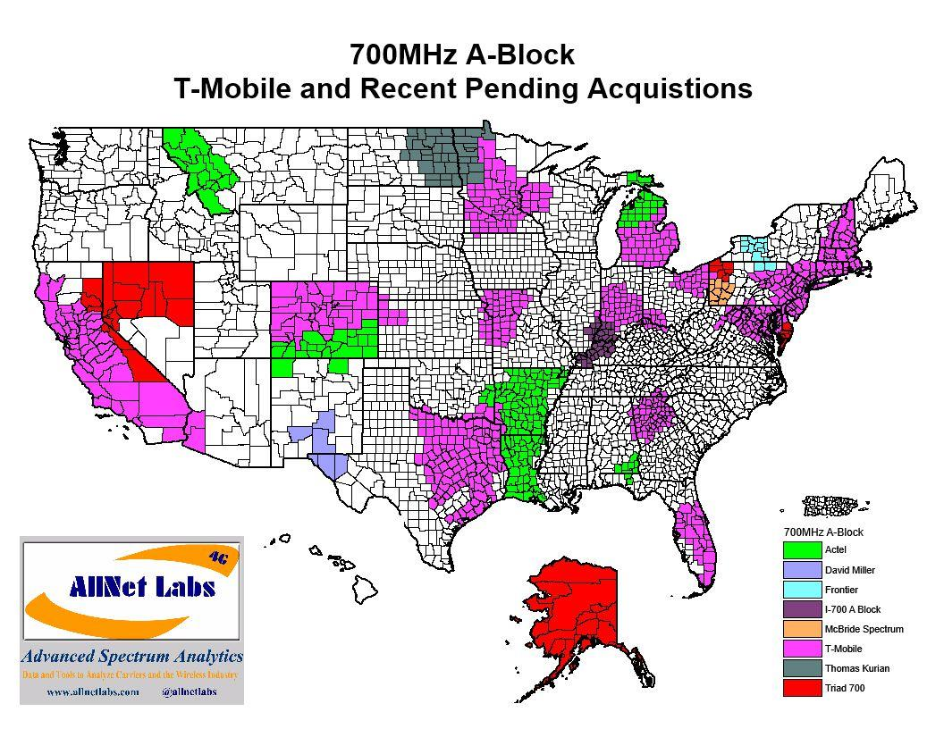 T-Mobile to acquire more 700MHz spectrum, in Alaska and