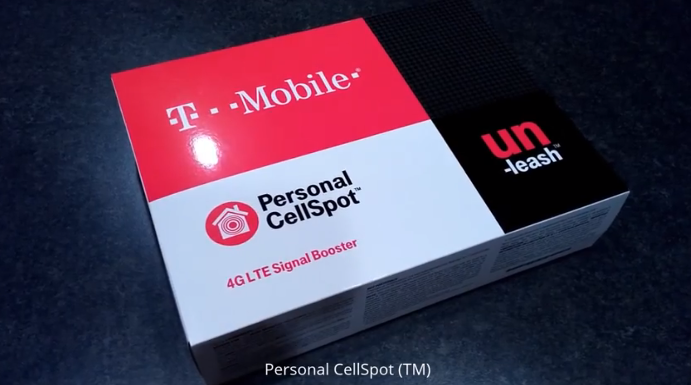 T-Mobile's new 4G LTE Signal Booster revealed [unboxing