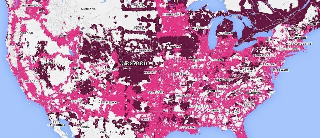 T-Mobile\'s new coverage map is now live - TmoNews