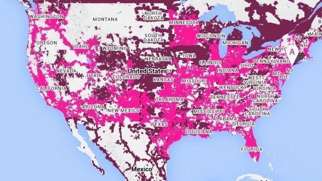 TMobile Network Gaining Ground Verizon Still Dominates In Latest - Verizon coverage map nebraska