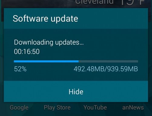 downloading lollipop