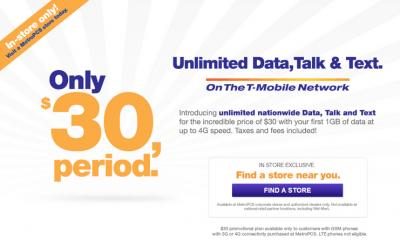 MetroPCS offer