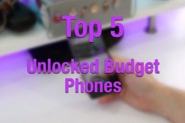 top 5 budget phones