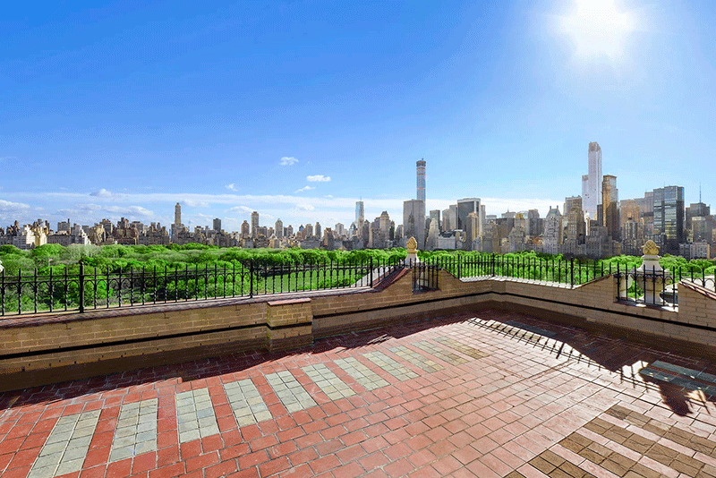 John legere drops 18 million on new york city penthouse for New york city penthouses central park