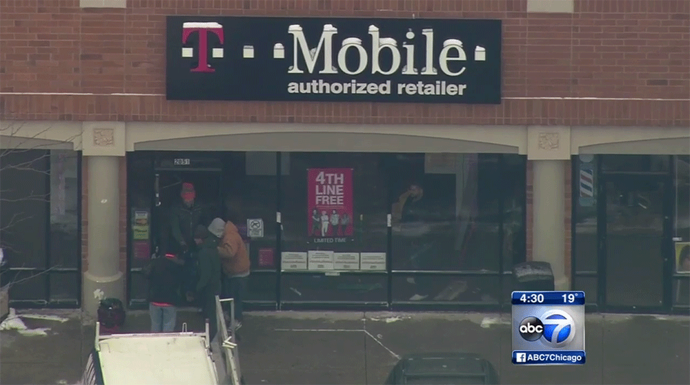 T-Mobile store employee with concealed weapon shoots two