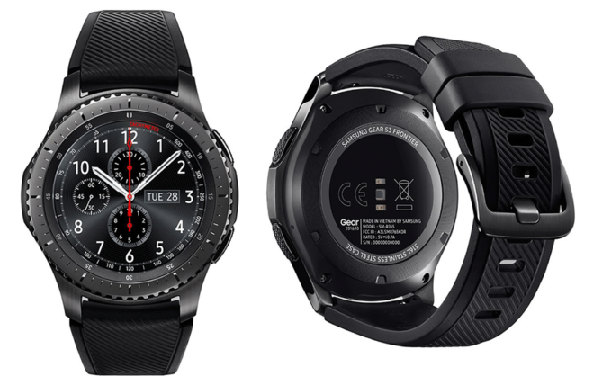 Samsung Gear S3 Frontier and Classic official, Frontier ...
