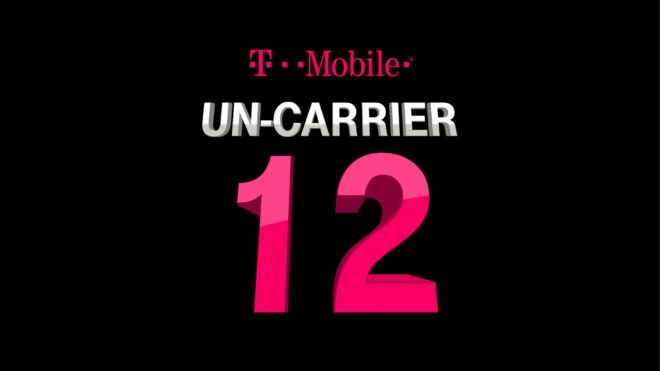 Un-carrier 12 is T-Mobile One, the end of data buckets and arrival ...