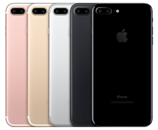 appleiphone7pluscolors