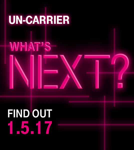 T-Mobile's next Un-carrier move will be revealed on January 5 ...