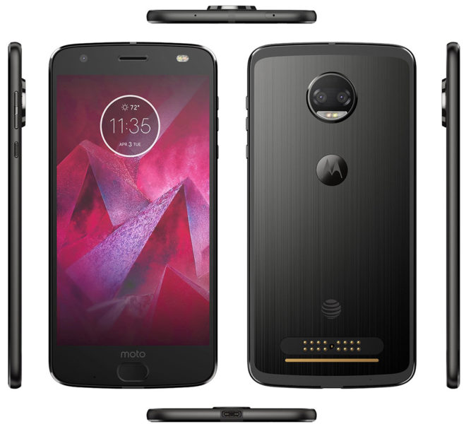 Moto Z2 Force again spotted, now with a 2730 mAh battery
