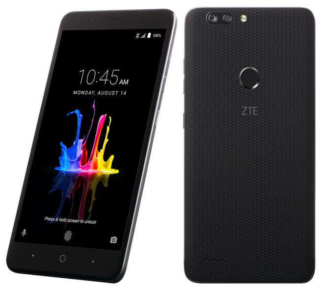 out zte blade zmax pro since