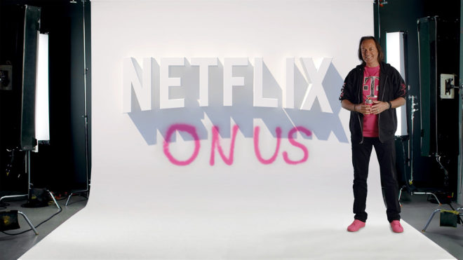 All T-Mobile ONE family plans now include a Netflix subscription