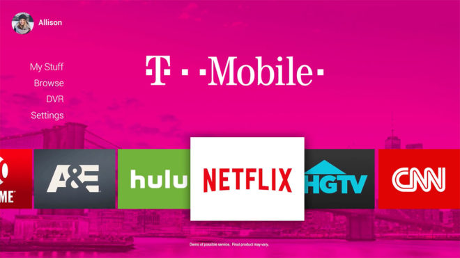 Mobile Plans to Irritate 'Big Cable' with Its Own TV Service