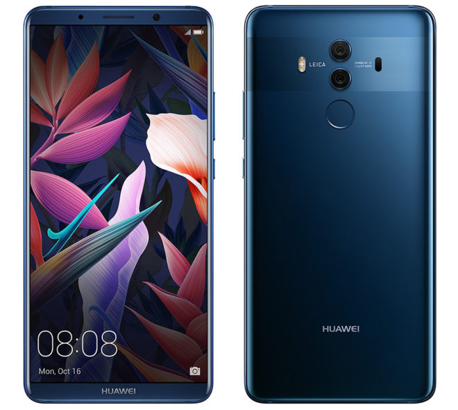 Huawei's Mate 10 Pro is coming to the U.S. on February 18