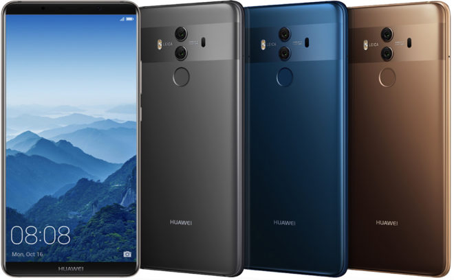 Huawei's Mate 10 Pro Comes to the U.S.  in February