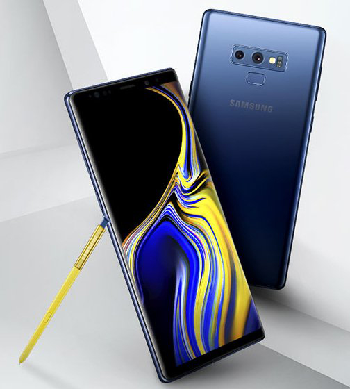 Galaxy Note 9 official press render leaked