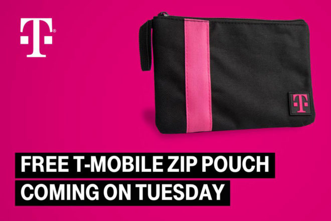 T-Mobile will give customers a free T-Mo zip pouch next Tuesday ... bc63786b9