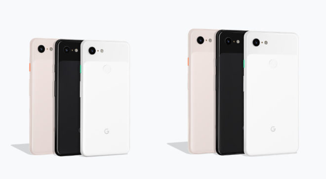 Google Pixel 3 and Pixel 3 XL official with bigger screens
