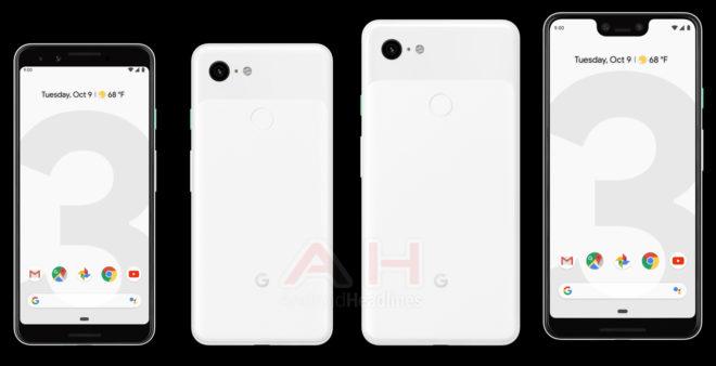 googlepixel3pixel3xlleakwhite