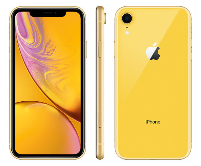 In Russia came the iPhone XR