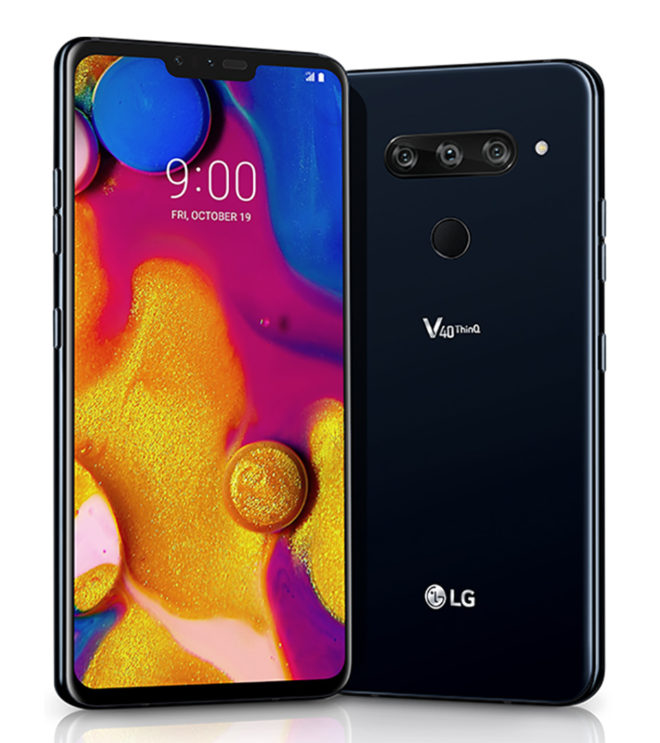 LG V40 ThinQ official with five cameras, launching at T