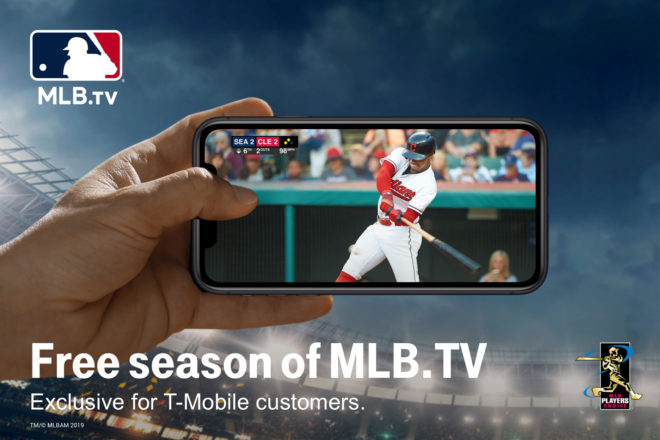 Mobile pitches a free year of MLB.TV to baseball fans