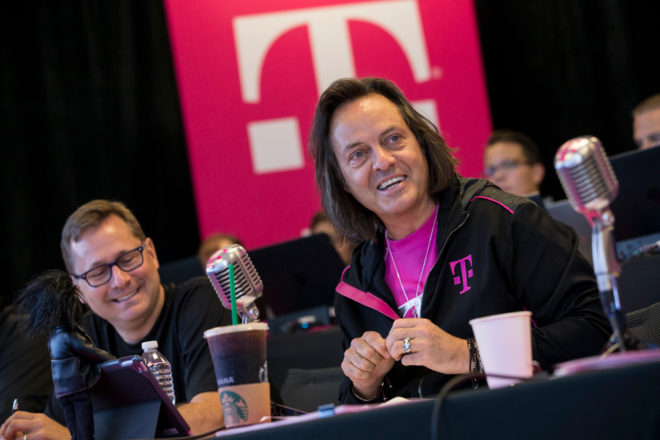 Mobile CEO John Legere stepping down; COO Mike Sievert to replace him