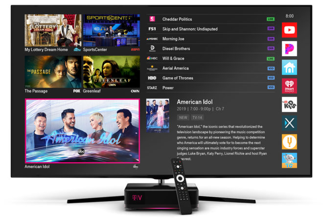 Mobile US launches own TV service with Layer3 platform