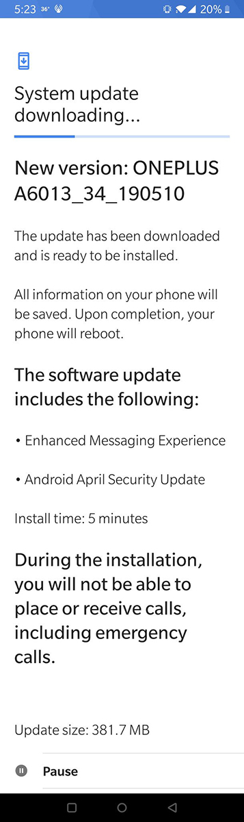 tmo-oneplus-6t-update-may-2019