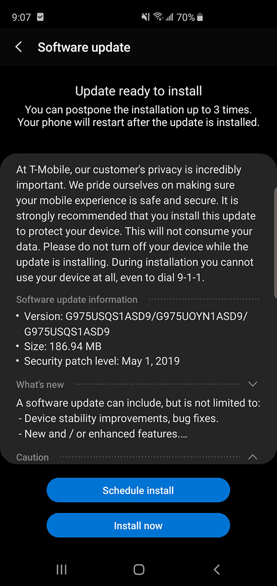 tmo-s10-update-may-2019
